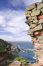 Image - Fast Castle, near St Abbs, Scottish Borders, Scotland