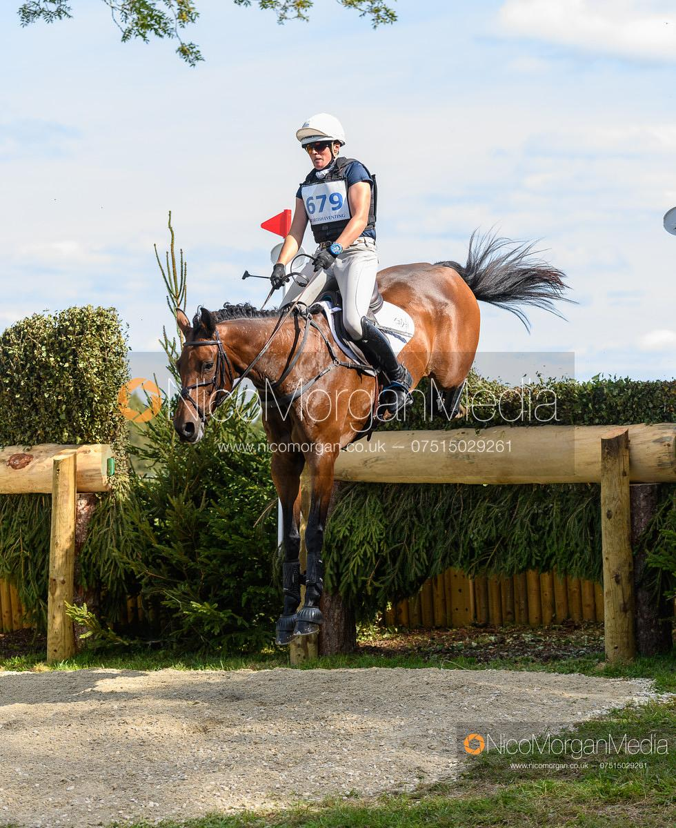 Flora Harris and EMOTION II - Cornbury House Horse Trials 2020