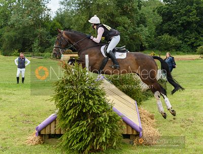 Becky Woolven and CHARLTON DOWN RIVERDANCE - Aston Le Walls Horse Trials 2019.