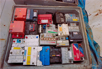 01041901-30 Battery recycling