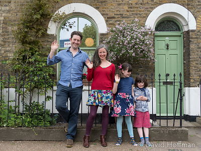Kenny, Sukha, Alice and Finlay say goodbye as they leave Norman Grove.