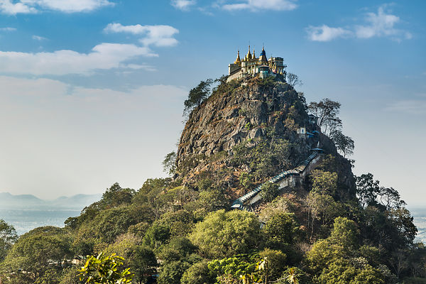 Mount Popa in Daylight I
