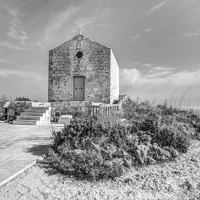 Magdalene Chapel on Dingli Cliffs, Malta