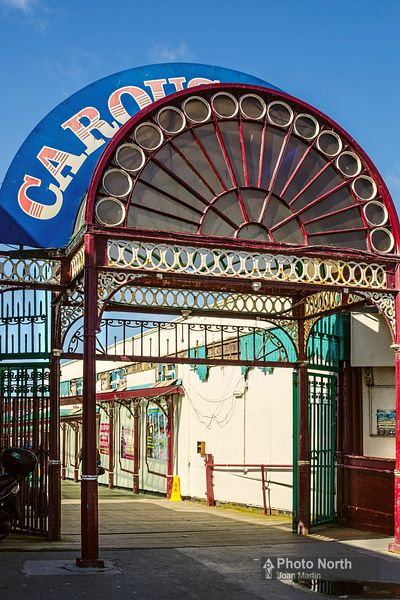 BLACKPOOL 12A - Old entrance to North Pier