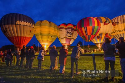 HOT-AIR BALLOONING 25A - Night Glow, Kirkby Lonsdale