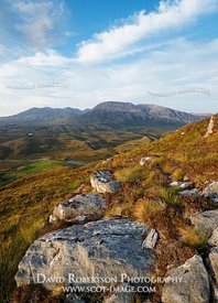 Image - Arkle and Foinaven, Sutherland, Scotland