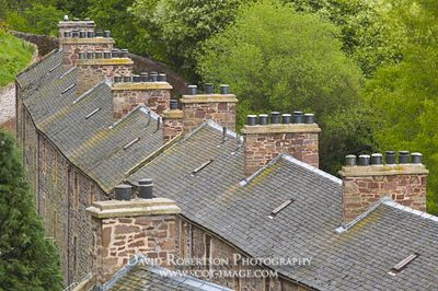 Image - New Lanark, Lanarkshire, Scotland