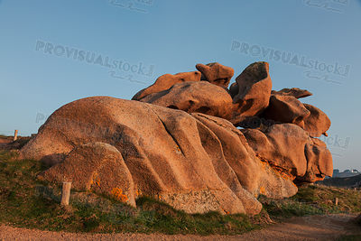 Rocks on the Pink Granite Coast