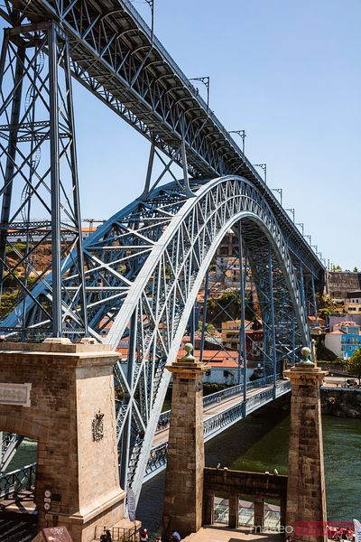 Ponte Luis I on the Douro river, Porto, Portugal