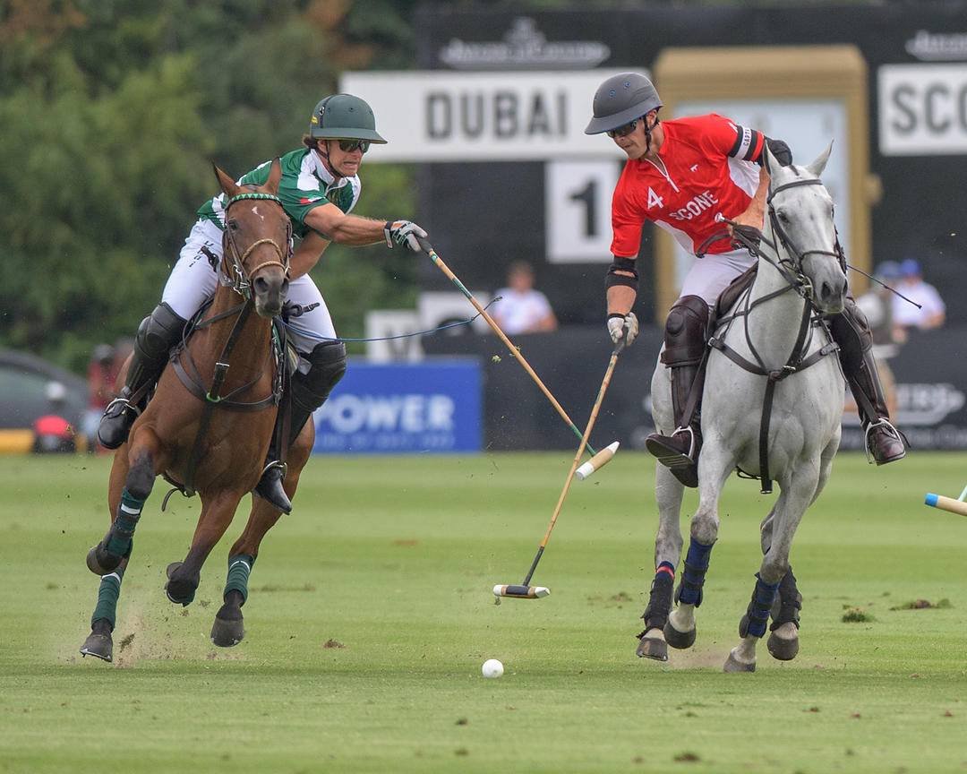 Semi-Finals of The King Power Gold Cup for The British Open Polo Championship 17 July 2019