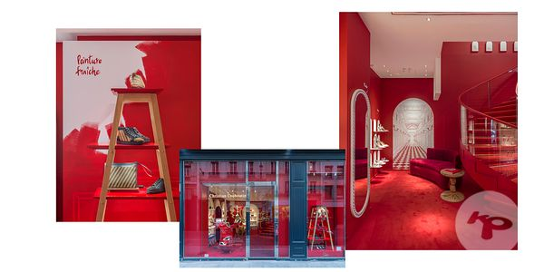 RETAIL PHOTOGRAPHER PARIS : LOUBOUTIN SAINT HONORE PARIS