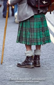 Image - Kilt and boots, Scotland