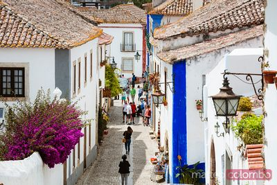 Obidos traditional village, region Centro, Portugal