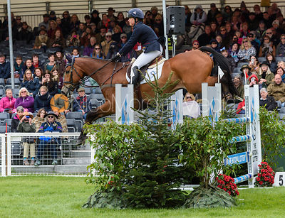 Pippa Funnell and MAJAS HOPE - showjumping phase - Mitsubishi Motors Badminton Horse Trials 2019