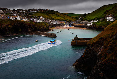 Fishing boat, Port Isaac, Cornwall.