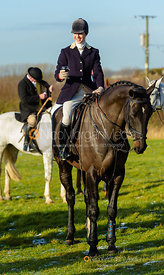 Lydia Cope at the meet at Horseleys Farm