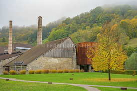 Museum of salt, in the town of Salines in the Jura region of France.