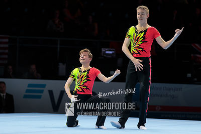 AG 12-18 Men's Pair Germany - Balance