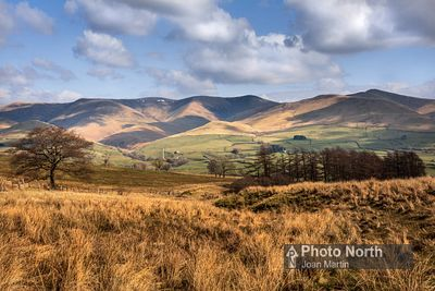FIRBANK 03B - The Howgills from Firbank Fell