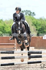 Unaffiliated showjumping. Eastminster school of riding. Essex. UK. 27/05/2019. ~ MANDATORY Credit Garry Bowden/Sportinpicture...