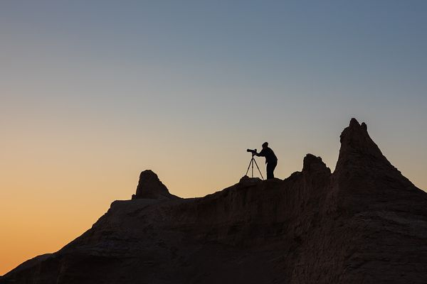The Photographer In Remote