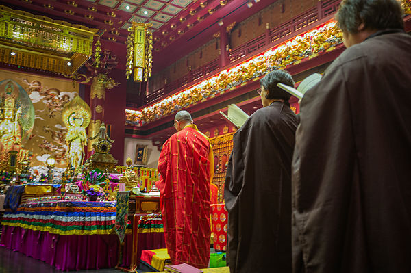 Buddha Tooth Relic Temple, Chinatown, Singapore, South East Asia