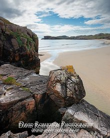 Image - Boulder beside Oldshoremore beach. Sutherland, Scotland