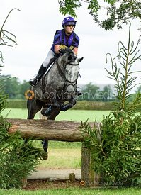 Ashley Edmond and EARL OF THE GREYS - Upton House Horse Trials 2019.