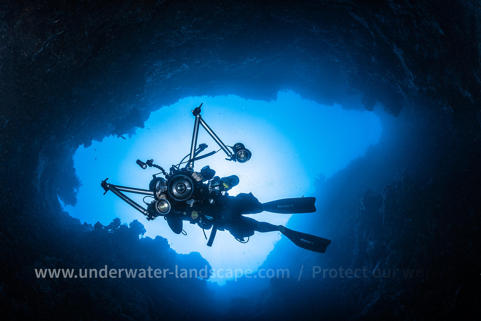Inside the reef