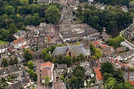Luchtfoto Abcoude Dorpskerk
