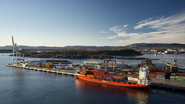The docks at Oslo Harbour