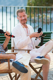 Andrew Sean Greer at Le Conversazioni talks in Capri, , Rome Italy, 5 Jul, 2019
