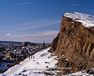 Image - Radical Road and Salisbury Crags in Holyrood Park, Edinburgh