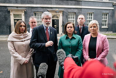 Sinn Fein Meeting with Theresa May