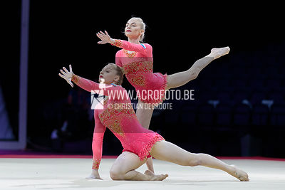IVANOVA - MISTIUKOVA (RUS 1) / JUN WP Dynamic.