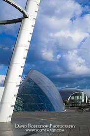 Image - IMAX, Glasgow Science Centre, Tower, Scotland.