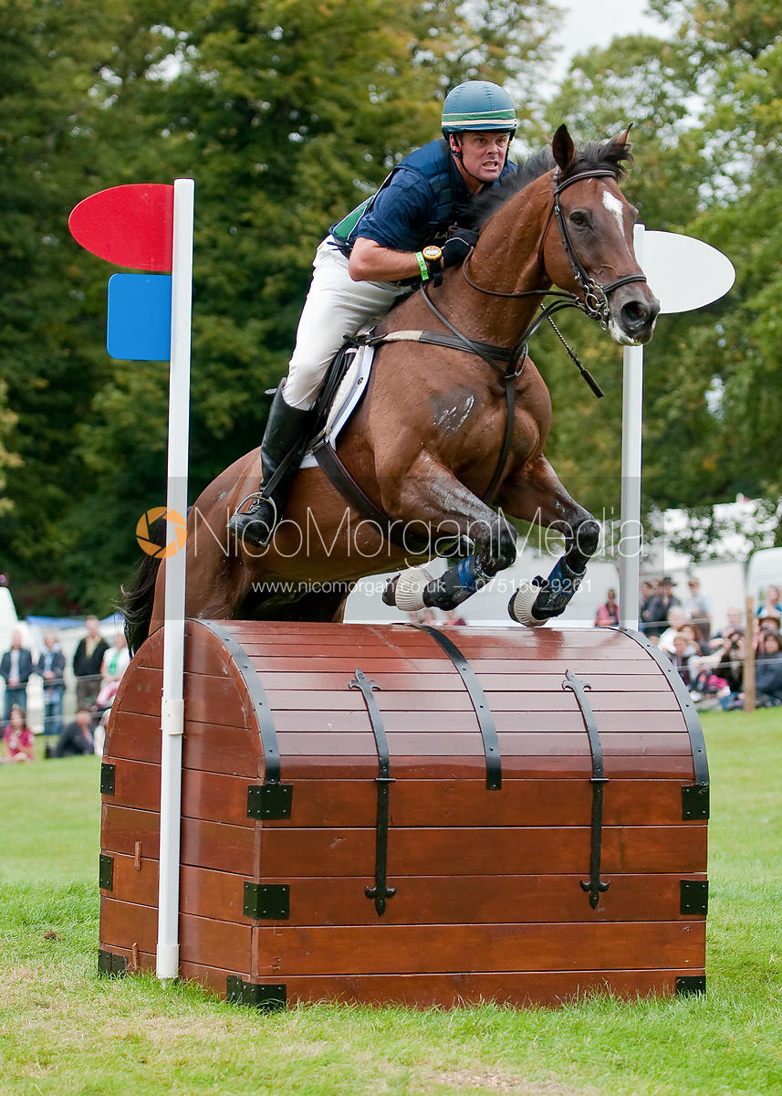 Kyle Carter and Madison Park at Burghley Horse Trials 2009 - Land Rover Burghley Horse Trials 2009