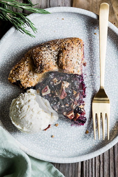 Pear & Grape Galette