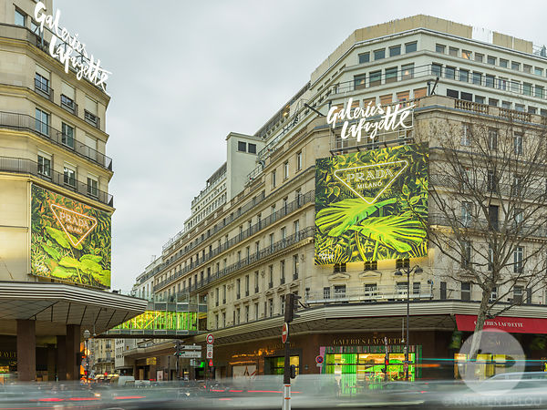 PHOTOS RETAIL : PRADA GALERIES LAFAYETTE PARIS