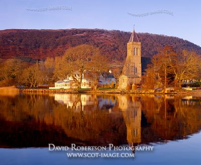 Image - Lake of Menteith, Port of Menteith, Scotland, Autumn