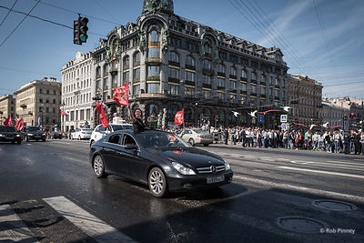 Victory Day in Saint Petersburg