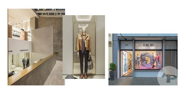 RETAIL PHOTOGRAPHER PARIS : DIOR MEN SOHO NEW YORK