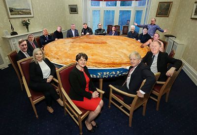 The Big Pie Table