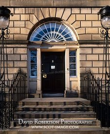 Image - Door, Fanlight, Charlotte Square, Edinburgh