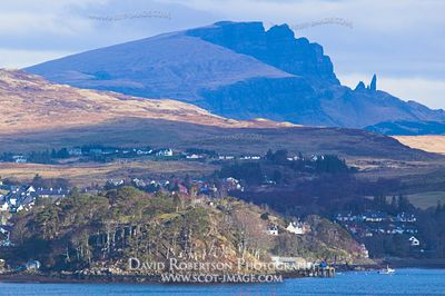 Image - Portree and the Old Man of Storr, Trotternish, Skye, Scotland