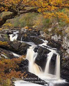 Image - Logie Falls, Contin, Ross and Cromarty, Highland, Scotland