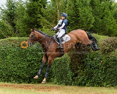 Louise Harwood and TREVILLICK - Aston Le Walls Horse Trials 2019.