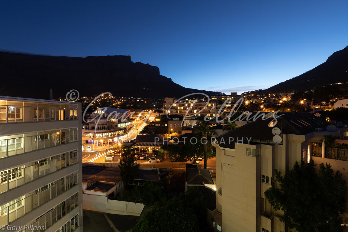 Table Mountain at Blue Hour
