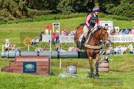 Emily Parker and HIGHLY DELIGHTED, Blair Castle International Horse Trials 2019