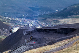 #5615,  Colliery spoil tip, Wales.